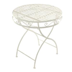Стол с кованным узором (плетенка) 70*75 см