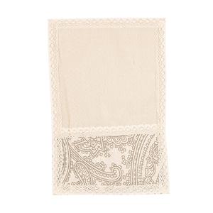Cалфетка из льна с кружевом Огурцы (от 2-х шт.) 30х45см 0399-10 (30х45)