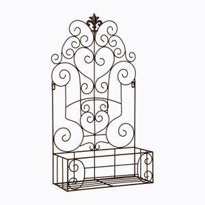 Полка-жардиньерка «Люксембургский сад» (черный антик, версия L) 760781