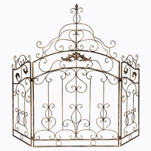 Каминный экран «Клермон» (королевская бронза) 8775