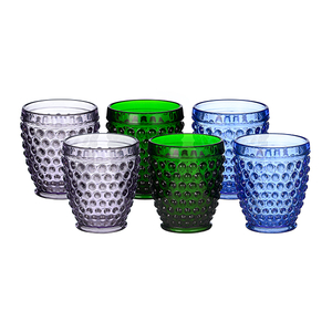 Набор стаканов Стеклянный горошек (набор 6шт)