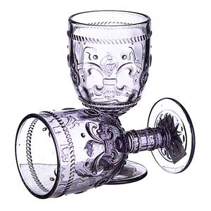 Бокал для вина Дикая фиолетовая лилия 300 ml (набор 6шт)
