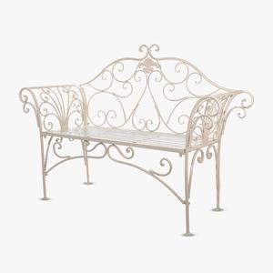 Садовый диван Белый ажур PL08-8574