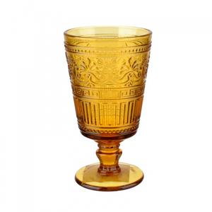 Бокал стеклянный желтый (набор 6шт)