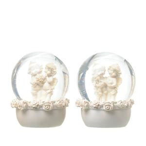 Ангелы в шаре Роза счастья (набор 2 шт) A308462-29