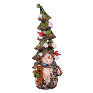 Снеговик с елкой большой BC16156