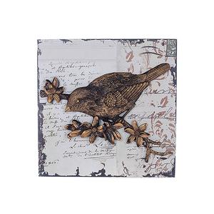 Панно Птичка на ветке BC16201