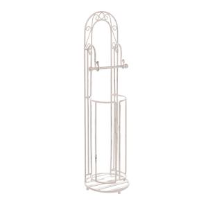 Подставка для туалетной бумаги Белый ажур PL08-34015
