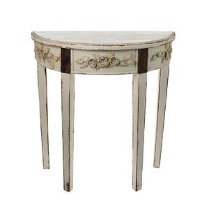 Консоль Античная белая QXA176-1201