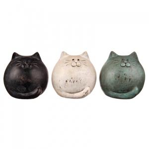 Статуэтки коты (набор из 3 шт)