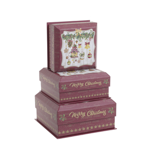 Набор новогодних коробок, 3шт 2-70-926-0008