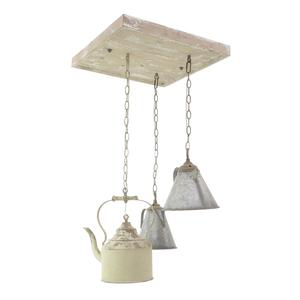 Лампа потолочная металлическая
