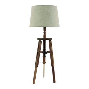 Лампа настольная коричневая