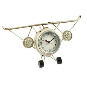 Часы настольные в форме самолета