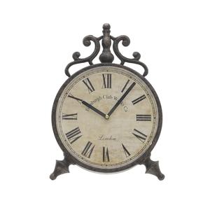 Часы металлические настольные - кварцевый механизм 3-20-098-0252