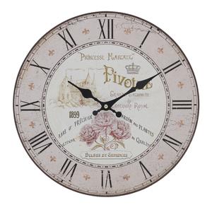 Часы настенные круглые 34см - кварцевый механизм 3-20-484-0394