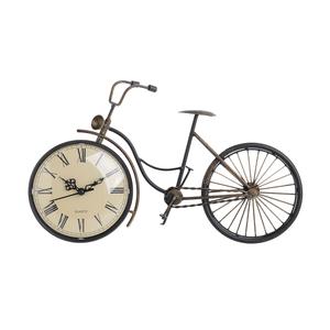 Часы настольные металлические в форме велосипеда 35х20 см