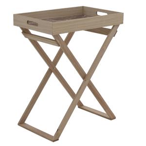 Стол-поднос коричневый 49х62 см