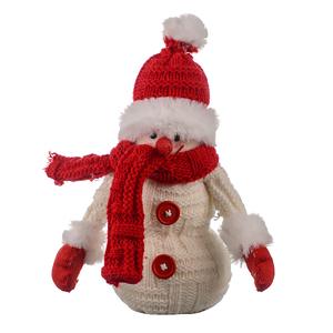 Новогодний снеговик Морозное утро