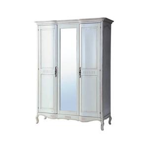 Шкаф 3-х дверный белый DF886 (M01)
