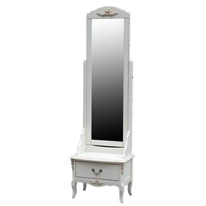 Зеркало напольное White Rose