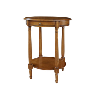 Стол кофейный овальный H835 (D71)