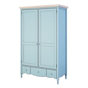 Шкаф двухстворчатый Leblanc, голубой