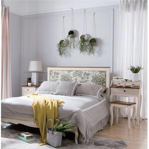 Кровать бежевая с мягким изголовьем 164*212 GW12S