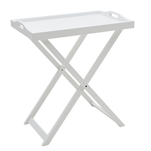 Стол-поднос белый