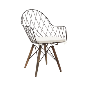 Кресло металлическое для дома и сада