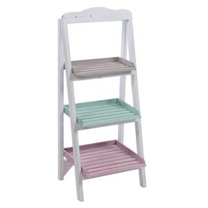 Стеллаж-лестница цветная