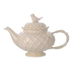 Чайник фарфоровый Крем де ла крем