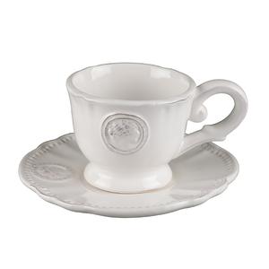 Чашка с блюдцем от 4-х шт. Медальон T02305-1