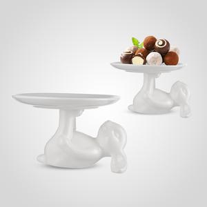 Блюдо для сладостей Крольчиха Мэри