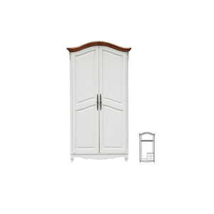 Шкаф 2-х дверный White Rose, итальянский орех