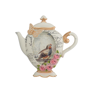 Фоторамка полистоун Цветочный чайник