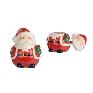 КерамическаяДекоративная Банка Дед Мороз