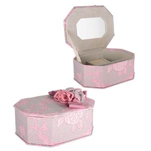 Шкатулка для Украшений Розовый Бант
