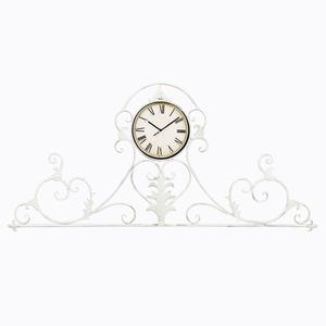 Настенные часы «Вуаль-Руж» (белый антик)