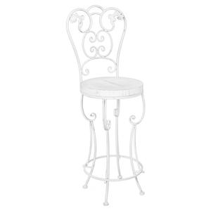 Барный стул «Болеро» (белый антик)