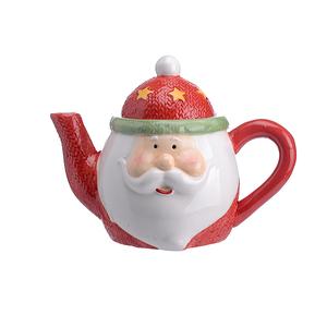 Керамический Заварочный Чайник Дед Мороз