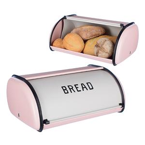 Хлебница Завтрак у Тиффани (розовая)