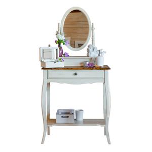 Макияжный столик с овальным зеркалом Leontina ST9321