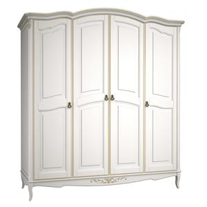 Шкаф 4 двери Belverom Gold (золотой)