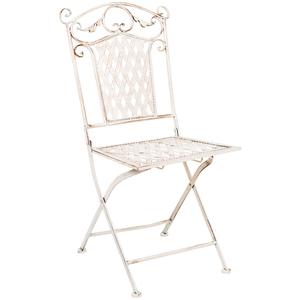 Складной стул «Ницца» (белый антик)