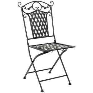 Складной стул «Ницца» (черный антик)