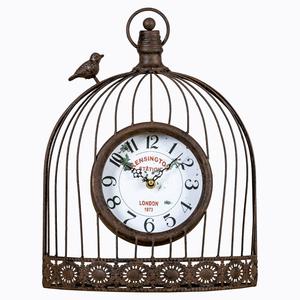 Настенные часы «Волшебный сад» (черный антик)