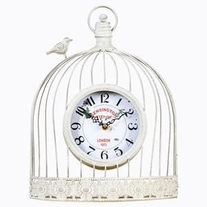 Настенные часы «Волшебный сад» (белый антик)