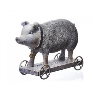 Статуэтка свинья 22х8,5х16 QJ99-0157