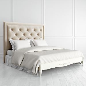 Кровать с мягким изголовьем квадратной формы 180*200 Romantic